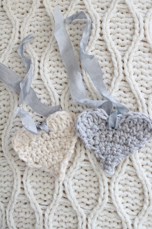 Easy Crochet Hearts And 5 Ways To Use Them A Box Of Twine